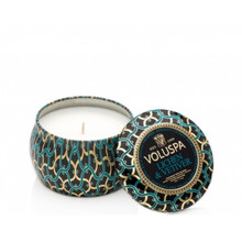 Voluspa Maison Noir Collection Lichen & Vetiver Travel Tin Candle