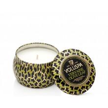 Voluspa Maison Noir Collection Vervaine Olive Leaf Travel Tin Candle