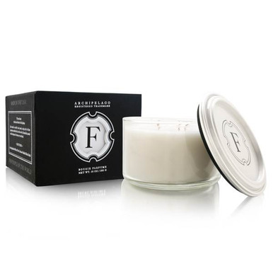 Archipelago 1834 Monogram Soy Candle With Lid - Letter F