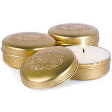 Seda France Malaysian Bamboo Classic Toile Travel Tin Candle