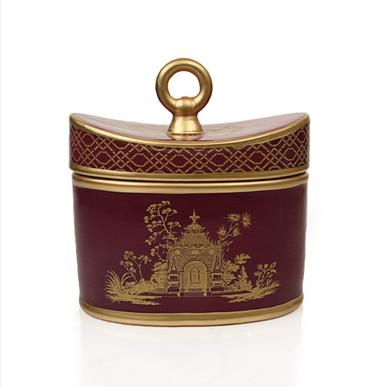 Seda France Currant Pourpre Jardins du Seda France Ceramic Two-Wick Candle