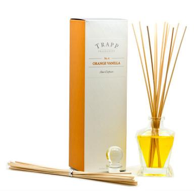Trapp Fragrances Orange Vanilla Reed Diffuser