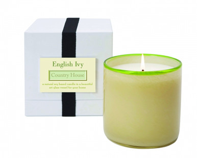 LAFCO English Ivy/ Country House & Home Glass Candle