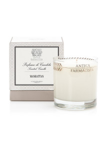 Antica Farmacista Lemon Verbena & Cedar Platinum Round Glass Candle