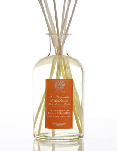 Antica Farmacista Orange Blossom Lilac & Jasmine Home Ambience Reed Diffuser - 500 ml.