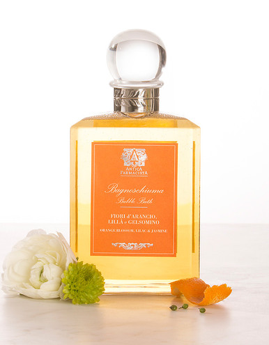 Antica Farmacista Orange Blossom Lilac & Jasmine Bubble Bath