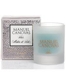 Manuel Canovas Matin de Perle Glass Votive Candle