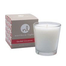Northern Lights Fragrance Palette Candied Cinnamon White Boxed Candle