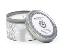 Archipelago Holiday Collection Winter Frost Travel Tin Candle