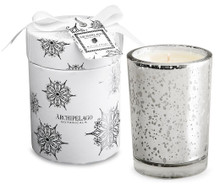 Archipelago Holiday Collection Winter Frost Round Boxed Candle