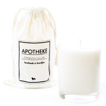 Apotheke Honeysuckle Whiskey Glass Soy Candle