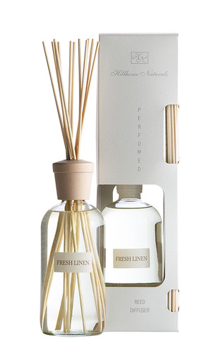 Hillhouse Naturals Fresh Linen Large Reed Diffuser - 16 Ounce