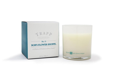 Trapp Candles No. 13 Bob's Flower Shoppe - 8.75 oz. Poured Candle