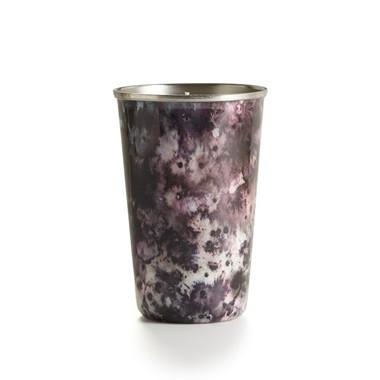 Illume Blackberry Absinthe Enameled Tumbler Tin Candle