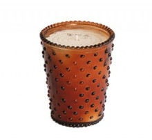 Simpatico No. 2 Tea Hobnail Glass Candle