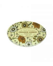 K. Hall Designs Orange Amber Printed Solid Perfume
