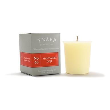 No. 65 Trapp Candle Mandarin Goji - 2oz. Votive Candle