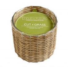 Hillhouse Naturals Cut Grass Hand Woven 2-Wick Candle