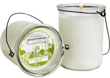 Hillhouse Naturals Eucalyptus Mint Mosquito Repellant Hanging Candle