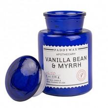 Paddywax Vanilla Bean Myrrh Apothecary Candle
