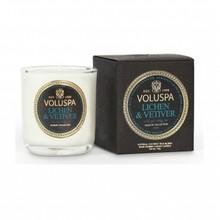 Voluspa Maison Noir Collection Lichen & Vetiver Votive Candle