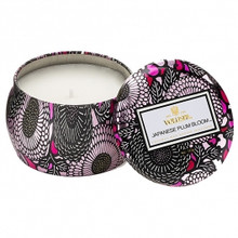 Voluspa Japonica Collection Japanese Plum Bloom Limited Edition Travel Tin Candle