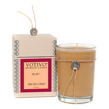 Votivo Aromatic Candle Spiced Chai Boxed Candle