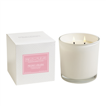 Hillhouse Naturals Peony Blush 2-Wick Glass Candle