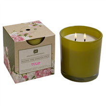 Hillhouse Naturals Along the Garden Path Collection: Tulip Glass Candle