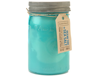 Paddywax Ocean Tide & Sea Salt Jar Candle - Relish Collection