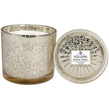 Voluspa Vermeil Collection Blond Tabac Grande Maison Glass Candle