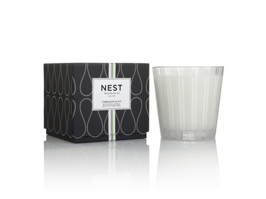 Nest Fragrances Tarragon & Ivy Three Wick Candle