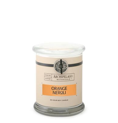 Archipelago Signature Collection Orange Neroli Glass Jar Candle