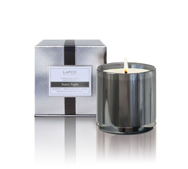 LAFCO Holiday Collection Starry Night Limited Edition Glass Candle