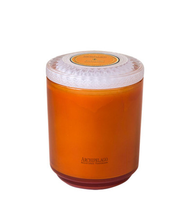 Archipelago Couleur Collection Positano Glass Candle