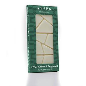 No. 21 Trapp Amber & Bergamot - 2.6 oz. Home Fragrance Melts