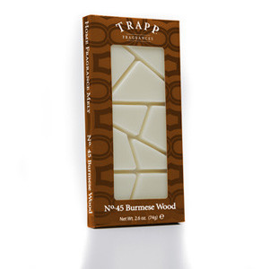 No. 45 Trapp Burmese Wood - 2.6 oz. Home Fragrance Melts