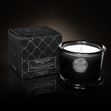 Black Current Collection Black Sandalwood 5oz Candle By Aquiesse