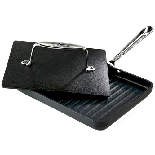 Panini Pan with Press - Non-Stick, 10""