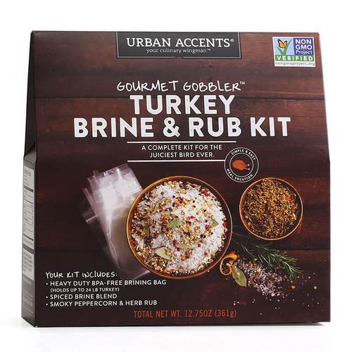 Gourmet Gobbler - Turkey Brine & Rub Kit, 361g