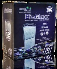 Deep Blue Professional 12-Pack BioMaxx Power Filter Cartridge Medium