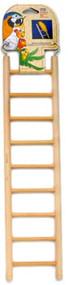 Penn Plax 9-Step Wooden Bird Ladder