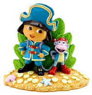 Penn-Plax Dora Pirate Resin Aquarium Ornament