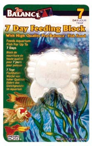 Penn Plax Pro-Balance Crab Shape Vacation Feeding Block - 1 Per Blister Card