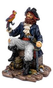 Penn Plax Pirate Captain Aquarium Decoration