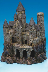 Penn-Plax 9-Inch Age of Magic Wizard's Castle Large