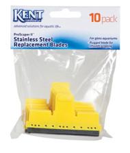 Kent Marine Stainless Steel Algae ProScraper II Blade 10pk