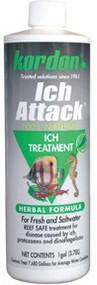 Kordon Ich Attack Ich Treatment for Aquarium 16-Ounce