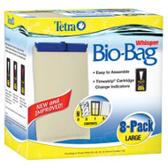 Tetra Whisper Bio-Bag Cartridge Unassembled Large 8-Pack