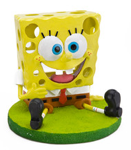 "Penn Plax SpongeBob Swim Through Aquarium Ornament 5.3"" L X 5.3"" W X 4.9"" H"